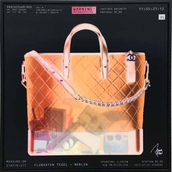 James Chiew: Lenticular X-Ray Bag, Berlin Tegel Security