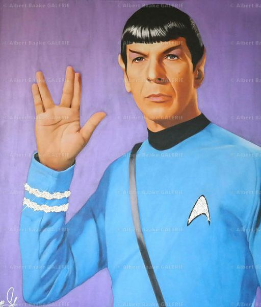 Hayo Sol: Dr. Spock The intergalactic Purple