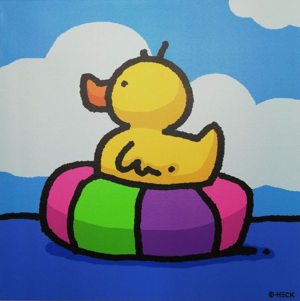 Ed Heck Editionen: Rubber Tube Ducky