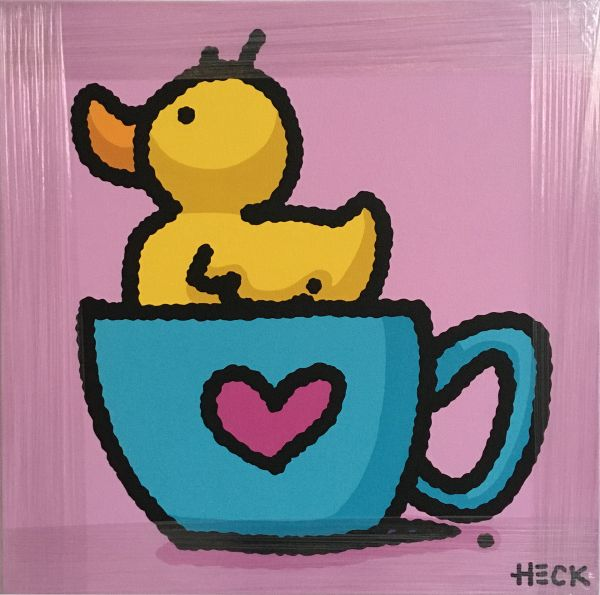 Ed Heck Unikat: Tea Duck