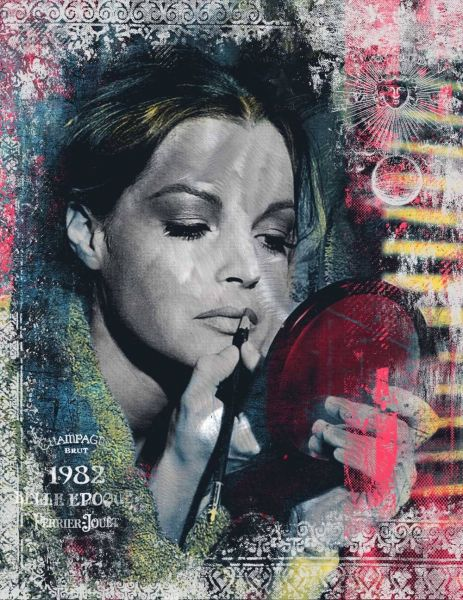 Devin Miles: So Emotional – Romy Schneider ( 100 x 130 cm )