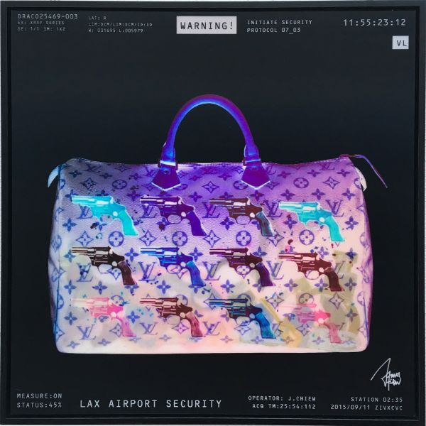James Chiew: Lenticular X-Ray Bag, LAX Airport Security